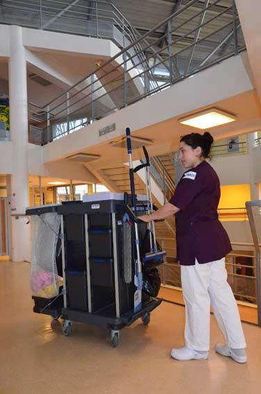 Novasol entreprise de nettoyage industriel : Hôpitaux de Paris